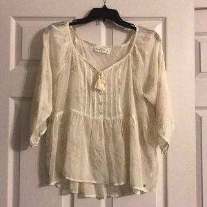 Abercrombie Fitch sheer top